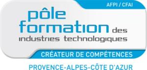 Logo Pole formation industries PACA